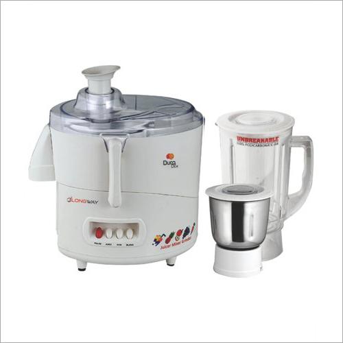 Duro Dlx 2 Jar Juicer Mixer Grinder