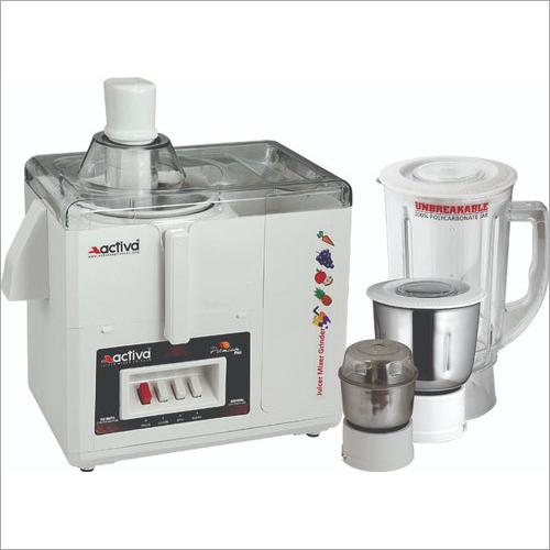 Activa保险费加上榨汁器搅拌器3瓶子研磨机