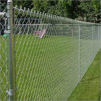 Steel Chain Link Fence