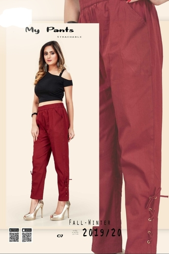 Side pocket strechable pant
