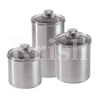 Glass Lid Canister Sets
