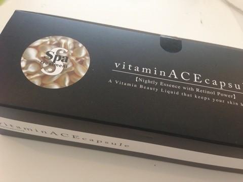 Vitamin ACE Capsule330mg x 50 capsules- SPA Treatment