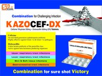 Cefixime 200mg + Dicloxacillin 500mg + LAB 90ms