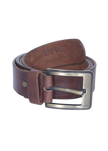 Oil Pullup Leather Belt