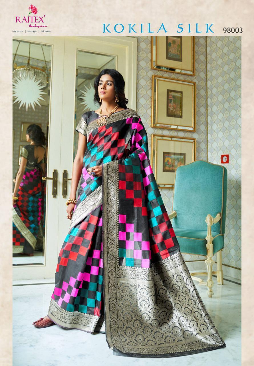 Women's Printed Silk Saree