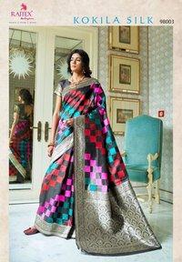 Women's Printed Silk Saree