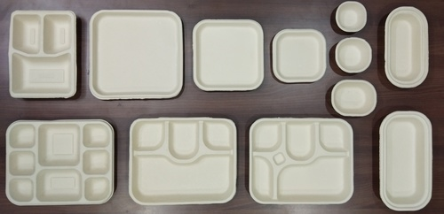 Disposable Plates, Bows, Tray
