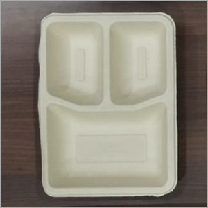 3 Compartment Disposable Paper Plate