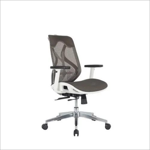Glider chair without headrest