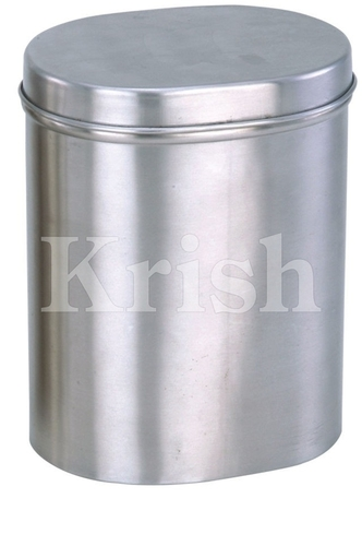 Semi Oval Canister