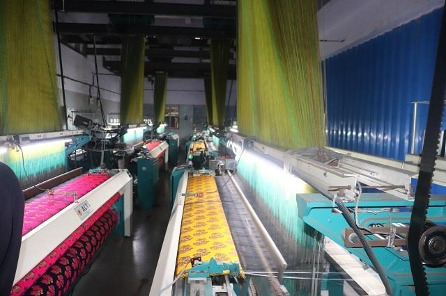 Rapier Electronic Jacquard Loom Machine