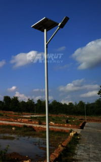 Solar Integrated LED Street Light 12W