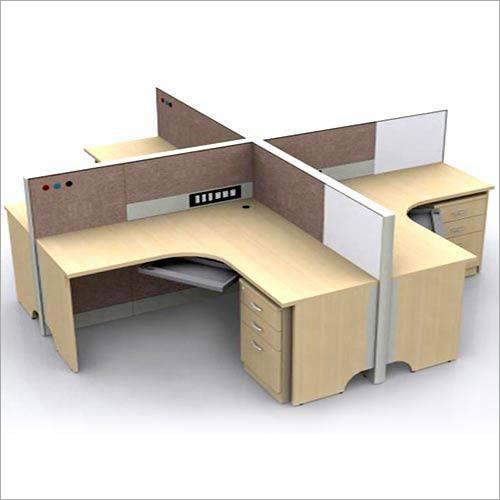 Four Seater Office Workstation
