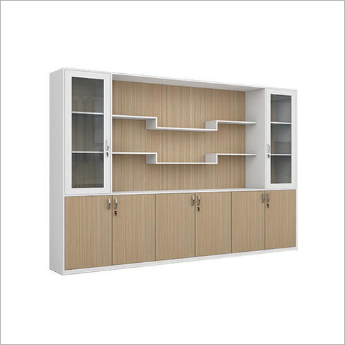 Wooden Office Almirah