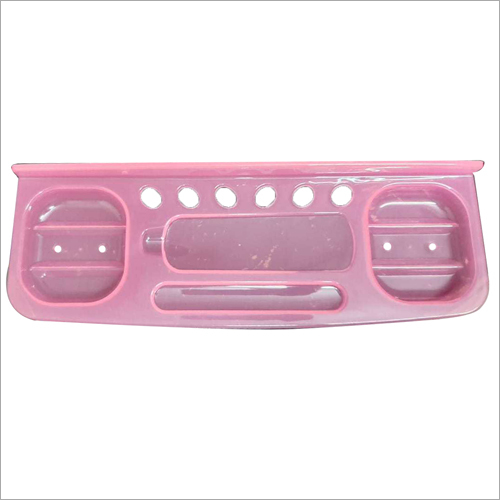 Pink Plastic Wall Hanging Soap Case