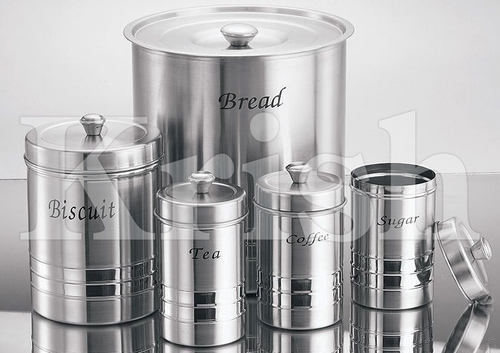 Trendy Bread Bin Set - 5 pcs