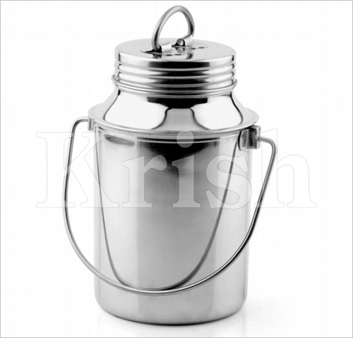 Milk can With Joint & Screw Lid