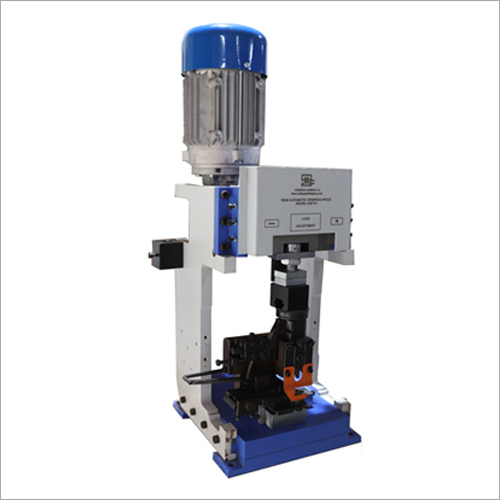Semi Automatic Crimping And Stripping Machine