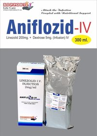 Linezolid 200mg + Dextrose 5gm/300ml