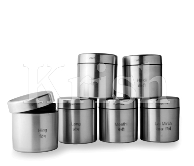 Spice Canisters - Regal