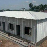 Prefab cement panel structure