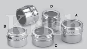 Spice Canister - Magnetic Base