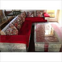 Designer L Sofa Set