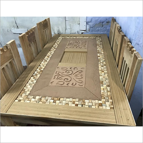 6 Seater Wooden Dining Furniture