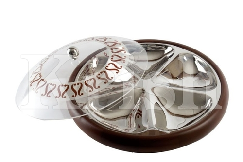 Dry Fruits Tray With Dome Cover - Cubo
