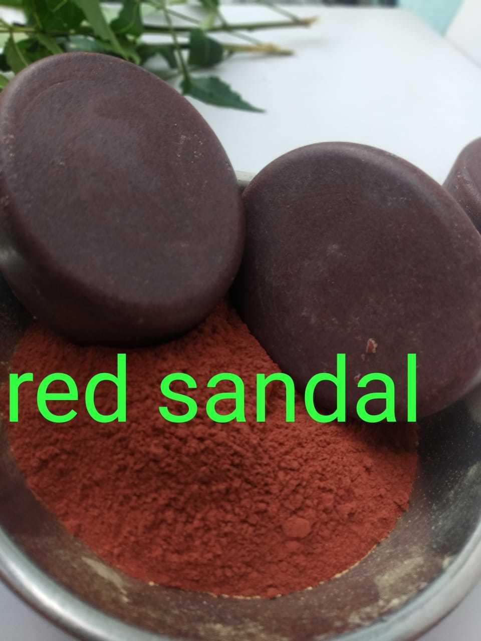 Red Sandal Herbal Soap