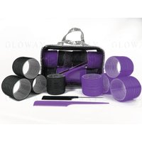 Newest Colorful Disposable Plastic Hair Rollers Tools