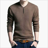 Mens Knitted T Shirt