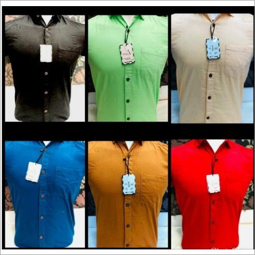 Mens Casual Cotton Shirt