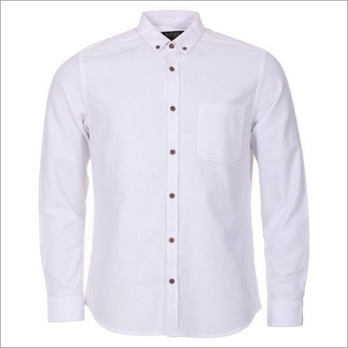 Mens Collar Neck Cotton Shirt