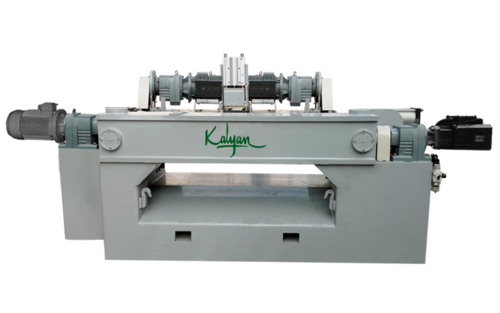HIGH SPEED HEAVY DUTY SPINDLELESS ROTARY PEELING MACHINE (1300-BDW)