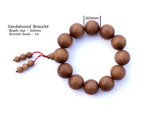 Sandalwood hand chain