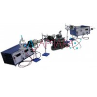 Plancks Constant By Spectrometer And Photo Voltaic Cell Experimental Set Up Labappara