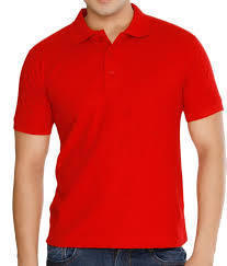 Promotional Red College T Shirt
