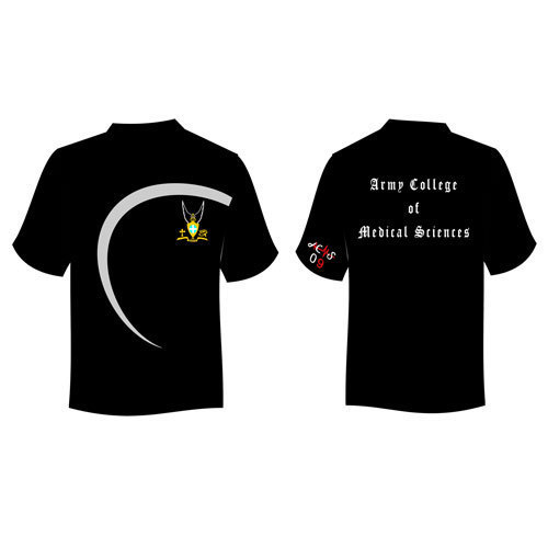 Promotional Army College Round Neck T-Shirts