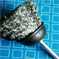 Ss Spindle Cup Brush 2 Inch
