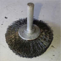 Brass Coated Spindle Cup Brush