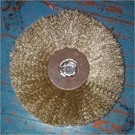 Brass Circular Wire Brush