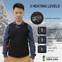 EH-V-107 ELEHEAT Battery Powered 5V Heated Vest