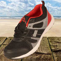 Black Red Sports Shoes