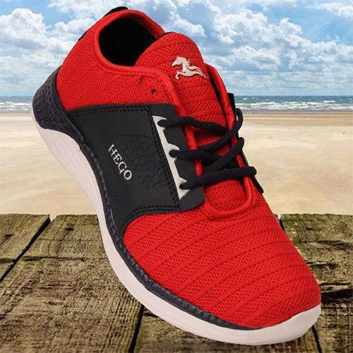 N.Blue Red Walking Shoes
