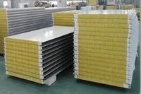 Glasswool panel