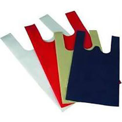 W Cut Non Woven Color Bag