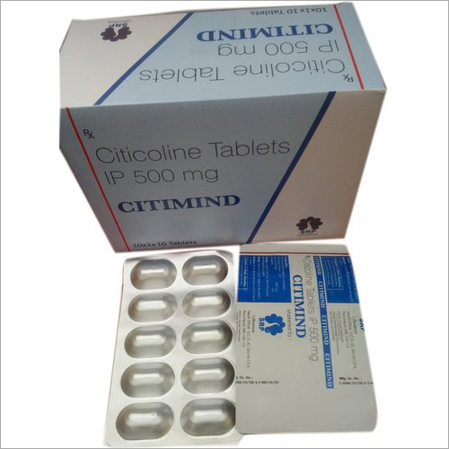 500 mg Citicoline Tablets IP