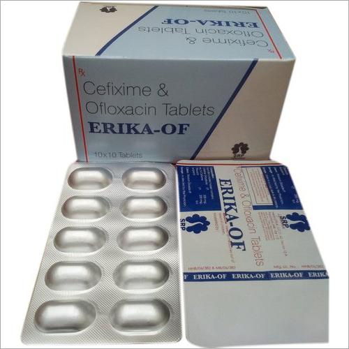 Cefixime And Ofloxacin Tablets