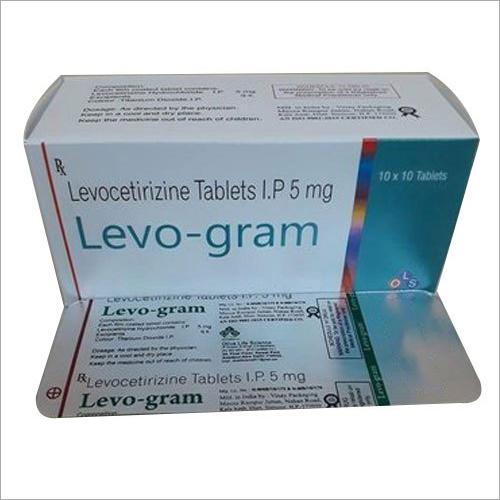 5 mg Levocetirizine Tablets IP